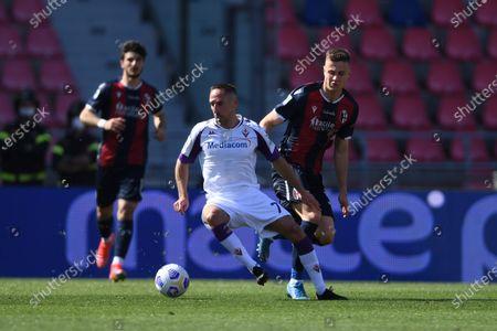 Editorial photo of Soccer: Serie A 2020-2021 : Bologna 3-3 Fiorentina, Bologna, Italy - 02 May 2021