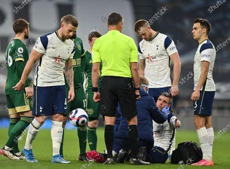 Editorial image of Tottenham Hotspur vs Sheffield United, London, United Kingdom - 02 May 2021