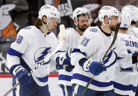 Editorial picture of Lightning Red Wings Hockey, Detroit, United States - 02 May 2021
