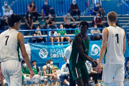 Editorial picture of CB Unicaja VS Real Betis Baloncesto in Mijas, Spain - 02 May 2021