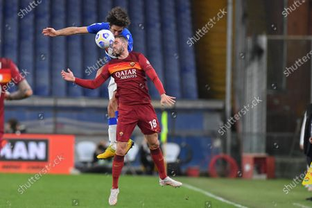 TOMMASO AUGELLO (Sampdoria), Davide Santon (Roma)