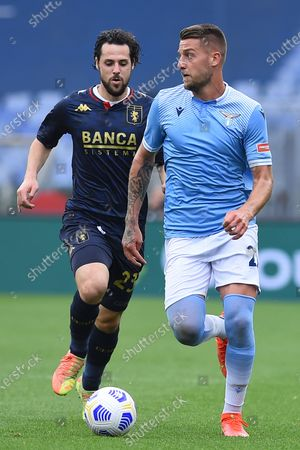 Editorial photo of Lazio v Milan, Serie A, Rome, Italy - 02 May 2021