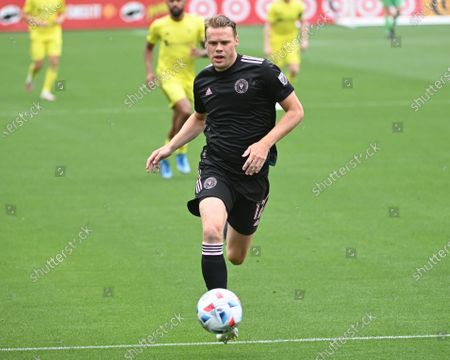 Inter Miami defender, Ryan Shawcross (17), in action during the MLS match between Inter Miami and Nashville SC at Nissan Stadium in Nashville, TN