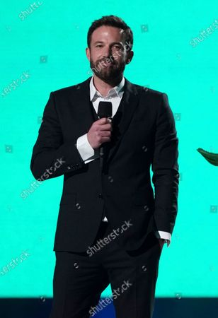"Ben Affleck speaks at Vax Live: The Concert to Reunite the World"", at SoFi Stadium in Inglewood, Calif"