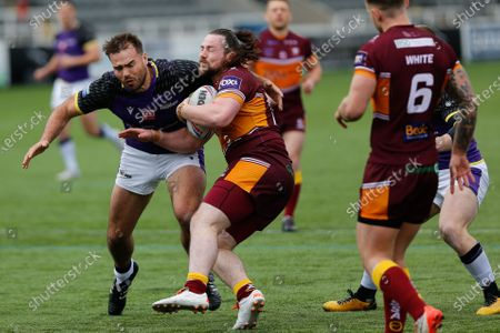 Editorial picture of Newcastle Thunder v Batley Bulldogs - BETFRED Championship, Newcastle upon Tyne, United Kingdom - 02 May 2021
