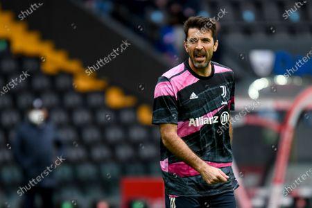 Stock Image of Gianluigi Buffon (Juventus) portrait