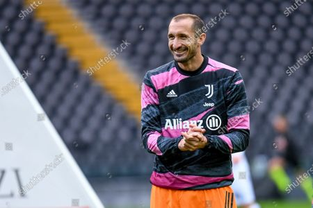 Editorial photo of Italian football Serie A match, Udinese Calcio vs Juventus FC, Udine, Italy - 02 May 2021