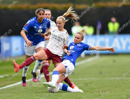 Editorial picture of Everton v Arsenal, Barclays FA Womens Super League, Walton Hall Park Liverpool, England, UK - 02 May 2021