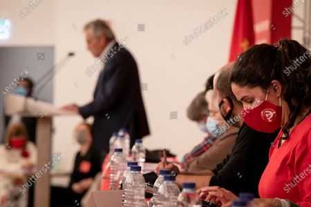 Editorial photo of Assembly Of Regional Organization Of The Portuguese Communist Party, Porto, Portugal - 02 May 2021