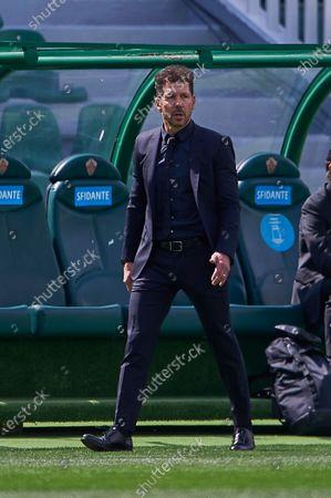 Diego Simeone, coach of Club Atletico Madrid SAD