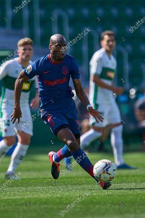 Geoffrey Kondogbia of Club Atletico Madrid SAD