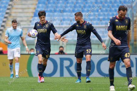 Editorial image of Italian football Serie A match, SS Lazio vs Genoa CFC, Rome, Italy - 02 May 2021