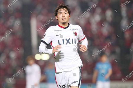 Stock Photo of Koki Machida (Antlers) - Football / Soccer :  2021 J1 League match  between Yokohama FC 0-3 Kashima Antlers at Nippatsu Mitsuzawa Stadium in Kanagawa, Japan.
