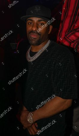 Stock Picture of DJ Clue at LIV nightclub at Fontainebleau Miami Beach, Florida.