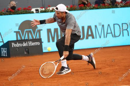Editorial picture of Mutua Madrid tennis tournament, Spain - 03 May 2021