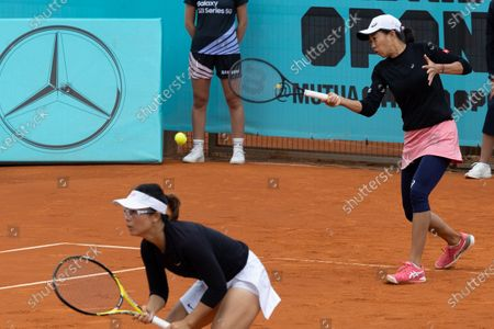 Editorial picture of Spain Madrid Tennis Madrid Open Women's Double - 03 May 2021
