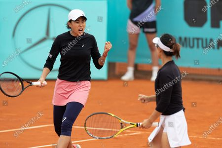 Editorial image of Spain Madrid Tennis Madrid Open Women's Double - 03 May 2021