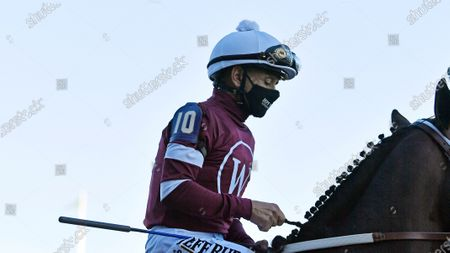 Mike Smith during the 147th running of the Kentucky Derby on in Louisville, Ky