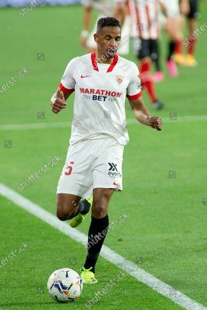Fernando Reges of Sevilla during LaLiga, football match played between Sevilla Futbol Club and Athletic Club at Ramon Sanchez Pizjuan Stadium on May 3, 2021 in Sevilla, Spain.