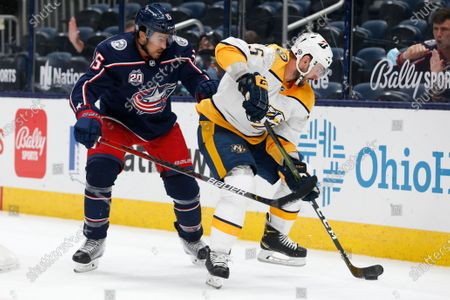 Editorial picture of Predators Blue Jackets Hockey, Columbus, United States - 03 May 2021