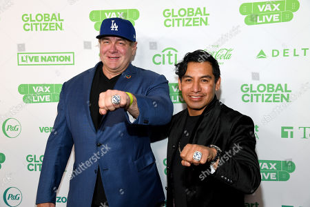 Editorial image of Global Citizen VAX LIVE: The Concert To Reunite The World, Inglewood, California, USA - 02 May 2021