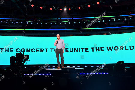 Prince Harry, Duke of Sussex speaks onstage during Global Citizen VAX LIVE: The Concert To Reunite The World at SoFi Stadium in Inglewood, California. Global Citizen VAX LIVE: The Concert To Reunite The World will be broadcast on May 8, 2021.