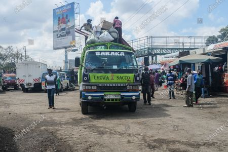 Editorial picture of Public transport commences in Nairobi, Kenya - 3 May 2021