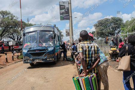 Editorial image of Public transport commences in Nairobi, Kenya - 3 May 2021