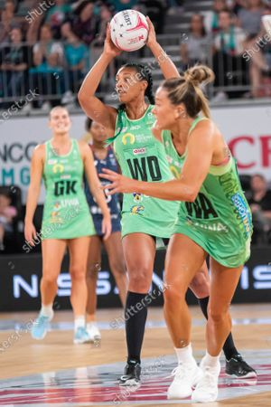 Editorial picture of Melbourne Vixens V West Coast Fever, Suncorp Super Netball Round 1 - 01 May 2021