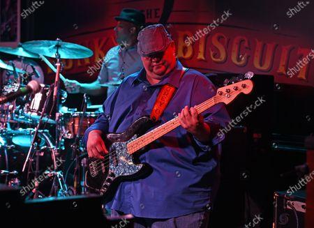 Corey Duplechin of the Tab Benoit band