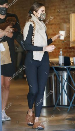 Editorial image of Olivia Culpo out and about, Los Angeles, California, USA - 28 Apr 2021