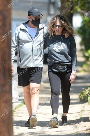 Editorial photo of Tom Hanks and Rita Wilson out and about, Los Angeles, California, USA - 30 Apr 2021