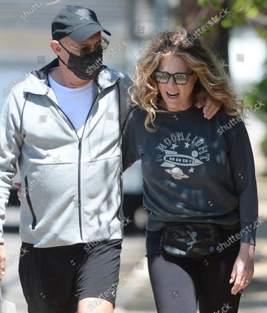 Editorial image of Tom Hanks and Rita Wilson out and about, Los Angeles, California, USA - 30 Apr 2021