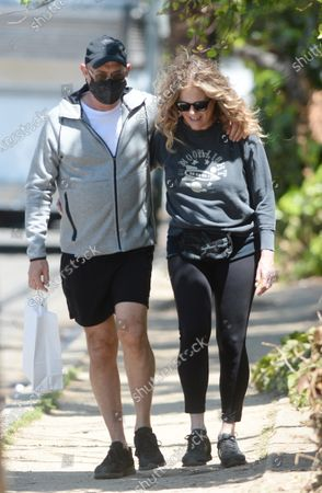 Editorial picture of Tom Hanks and Rita Wilson out and about, Los Angeles, California, USA - 30 Apr 2021