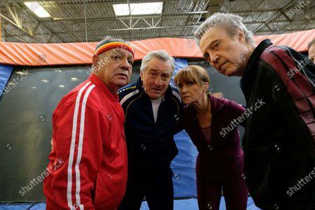 Cheech Marin, Robert De Niro, Jane Seymour, Christopher Walken
