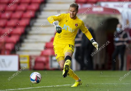 Ben Amos of Charlton Athletic