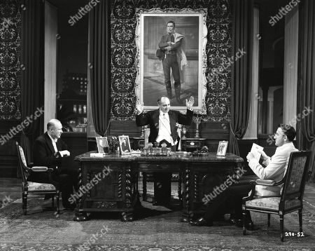 Anthony Bushell as Mr. Millington Drake - British Minister, Montevideo, Peter Illing as Dr. Guani - Foreign Minister, Uruguay and Douglas Wilmer as M. Desmoulins - French Minister, Montevideo