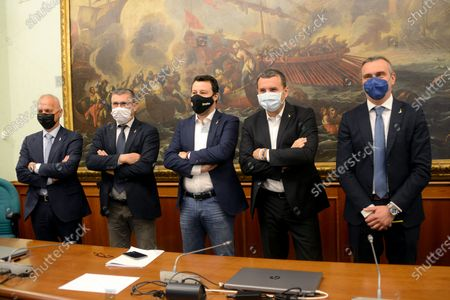 Editorial picture of Press conference of the League on agriculture, female entrepreneurship and new generations, Rome, Italy - 04 May 2021