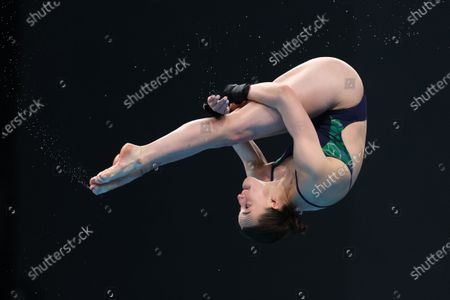 Women's 10M Platform Preliminaries. Ireland's Ciara McGing