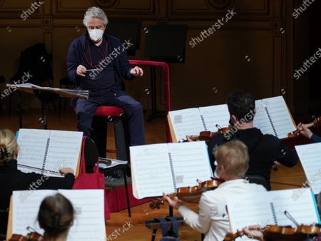 Editorial photo of Italian composer and conductor Nicola Piovani in Trieste, Italy - 04 May 2021