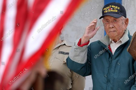 Editorial image of Chinese-American WWII veteran, age 98, shares his love story, Lancaster, California, United States - 25 Apr 2021