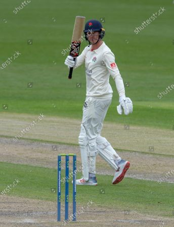 Editorial picture of Lancashire v Glamorgan, LV= County Championship, Cricket, Emirates Old Trafford, Manchester, UK - 09 May 2021