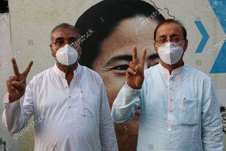 Editorial picture of West Bengal Assembly Elections 2021, Kolkata, India - 03 May 2021