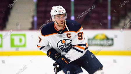 Editorial photo of Oilers Canucks Hockey, Vancouver, Canada - 03 May 2021