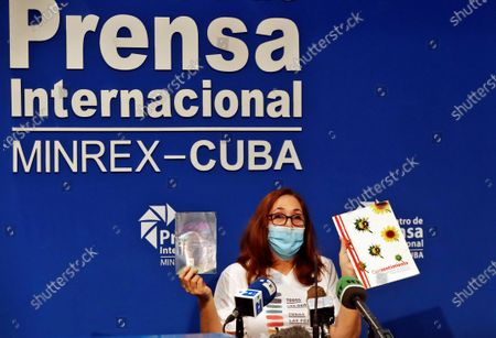 Editorial picture of Director of Cenesex announces activities per national day to fight homophobia and transphobia, Havana, Cuba - 04 May 2021