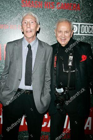 Leon Gast and Ron Galella