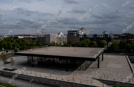 Editorial photo of New National Gallery after six years of renovation, Berlin, Germany - 04 May 2021