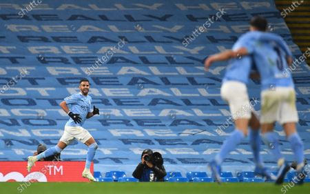 Editorial image of Manchester City vs Paris Saint-Germain, United Kindom - 04 May 2021