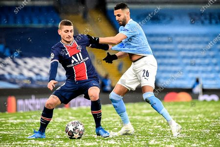 Editorial photo of Manchester City vs Paris Saint-Germain, United Kindom - 04 May 2021