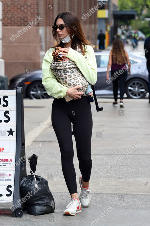 Editorial image of Emily Ratajkowski out and about, New York, USA - 04 May 2021